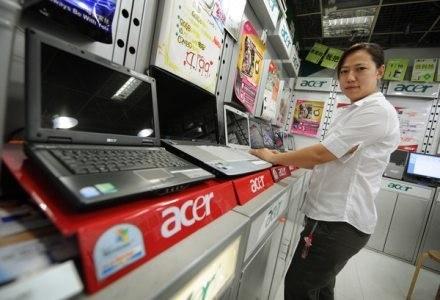 Acer stał się 2. producentem komputerów na świecie /AFP