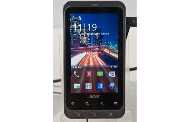 Acer Stream: soczyste kolory i pasek Home App, do którego trzeba się przyzwyczaić /HeiseOnline