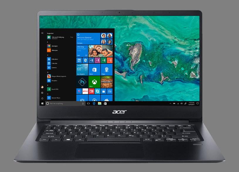 Acer Swift 1 /materiały prasowe