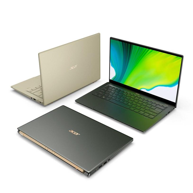 Acer Swift 5 i Swift 3 /materiały prasowe
