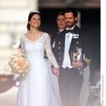 Ach, co to był za ślub! Książę Szwecji ma śliczną żonę!