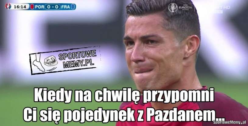 Ach ten Pazdan... /Sportowememy.pl /Internet
