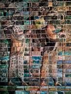 Achemenidzi: łucznicy, fryz z pałacu Dariusza w Suzie, V w. p.n.e. /Encyklopedia Internautica