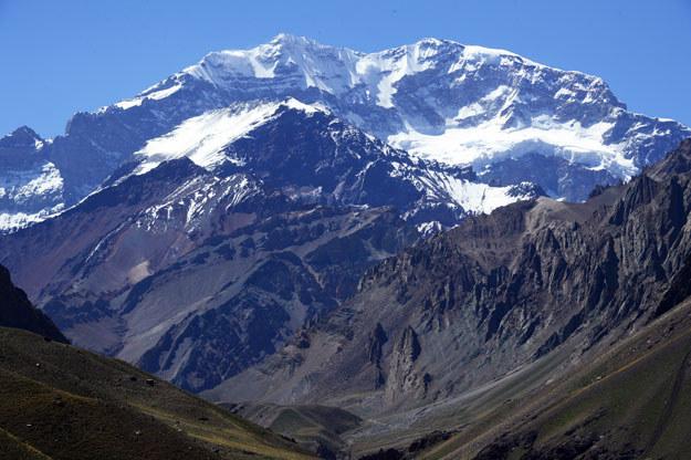 Aconcagua liczy 6961 m.n.p.m. /AFP