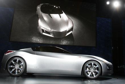 Acura advenced sports car concept / Kliknij /AFP