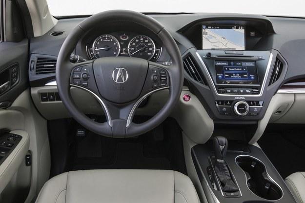Acura MDX (2014) - deska rozdzielcza /Acura