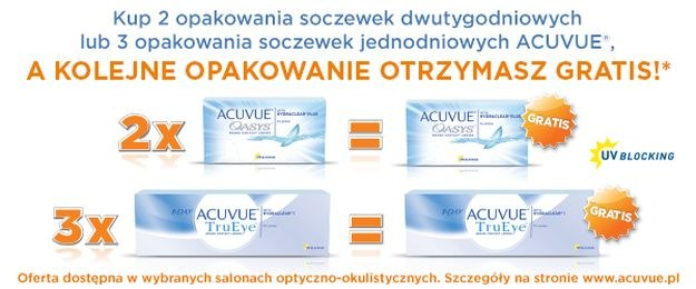 ACUVUE® /materiały promocyjne