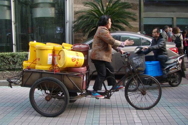 ...aczkolwiek transport rowerowy... /INTERIA.PL