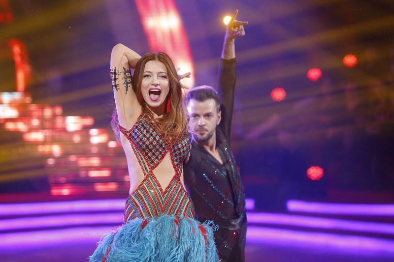Ada Fijał mówi, że na szczęście ma poczucie rytmu. /Baranowski /AKPA
