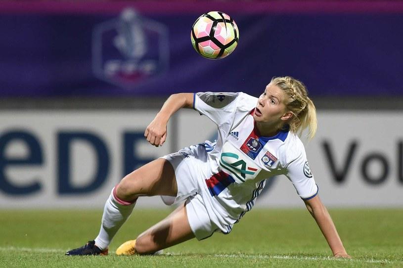 Ada Hegerberg z Olympique Lyon /AFP