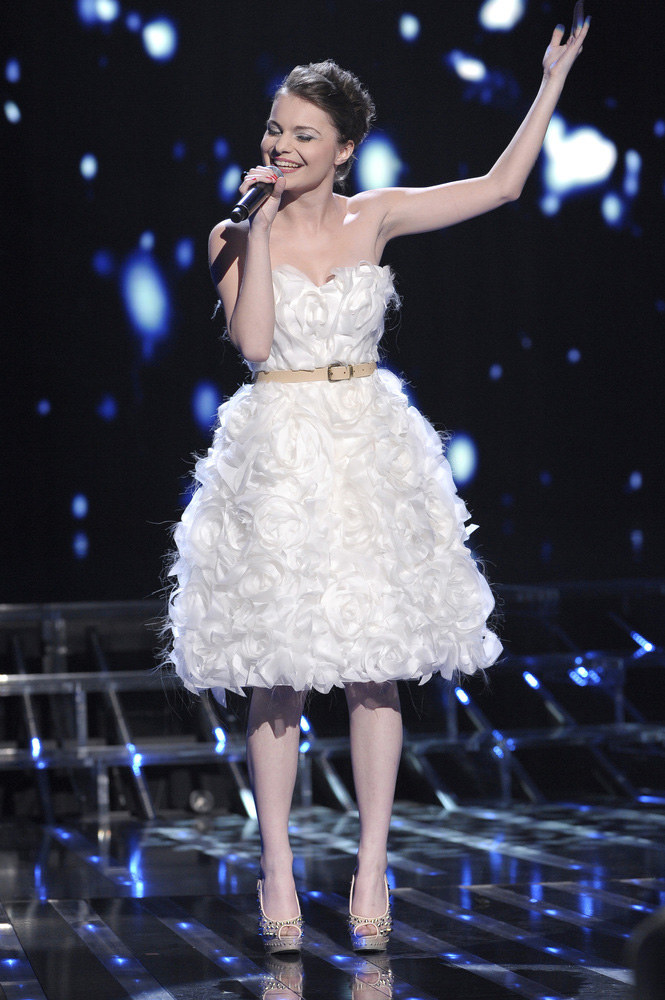 Ada Szulc finalistka pierwszej edycji programu X-Factor /Andrzej Engelbrecht /AKPA