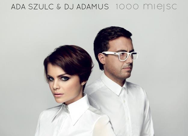 """Ada Szulc i DJ Adamus na okładce płyty """"1000 miejsc"""" - fot. Łukasz Brześkiewicz /"""
