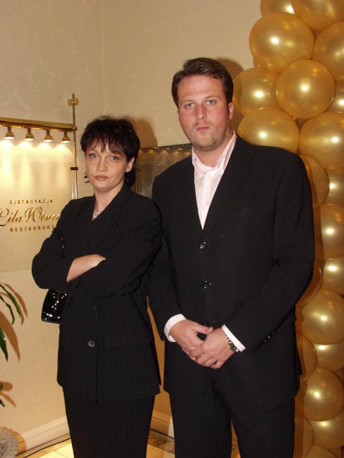 Ada z mężem Marcinem Miazgą /- /AKPA