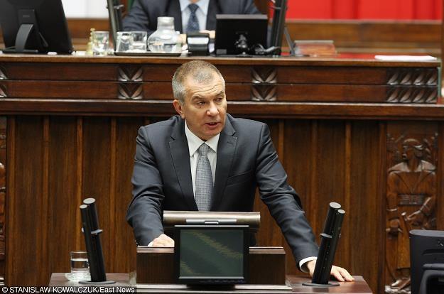 Adam Abramowicz z PiS. Fot. STANISŁAW KOWALCZUK /Agencja SE/East News