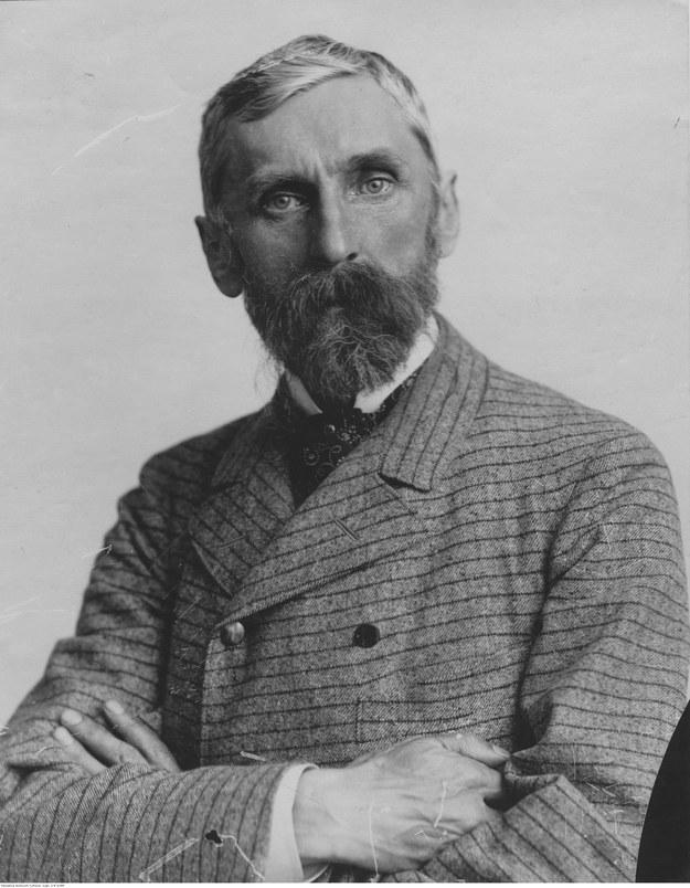 Adam Asnyk. Fotografia portretowa /Z archiwum Narodowego Archiwum Cyfrowego