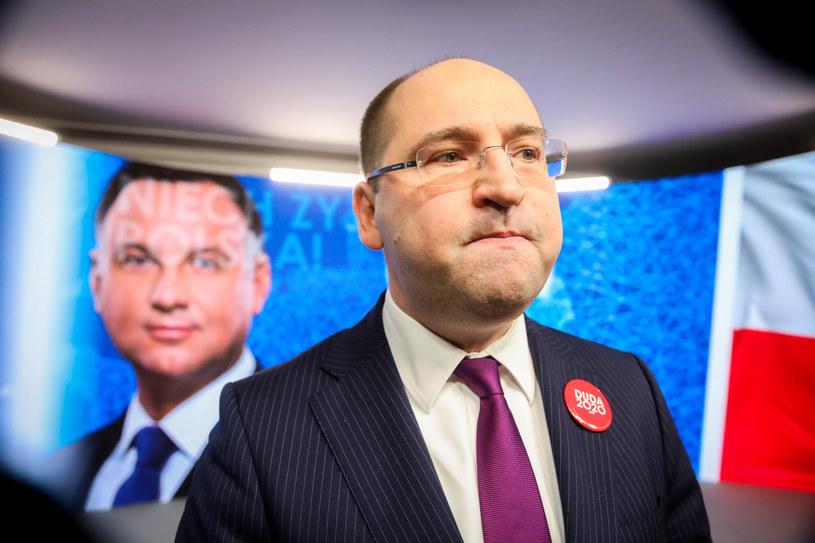 Adam Bielan to europoseł PiS, członek władz Porozumienia, a także rzecznik kampanii Andrzeja Dudy /Andrzej Iwańczuk /Reporter