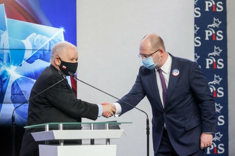 Adam Bielan w połowie września przyznał, że porozumienie w sprawie koalicji jest blisko /Andrzej Iwańczuk/Reporter /East News