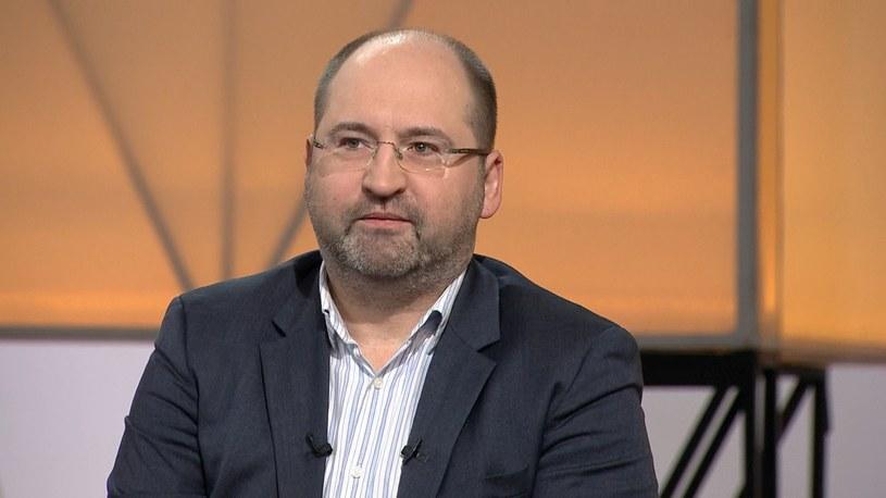 """Adam Bielan w """"Śniadaniu Rymanowskiego w Polsat News i Interii"""" /Polsat News"""
