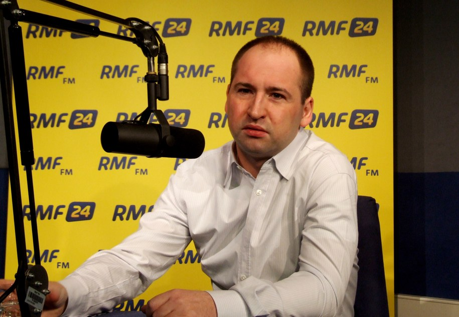 Adam Bielan w studiu RMF FM  /Olga Wasilewska /RMF FM
