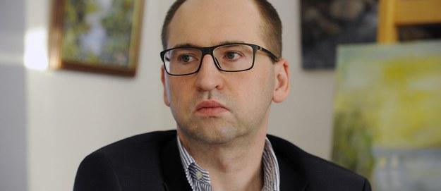 Adam Bielan /Andrzej Rybczyński  /PAP