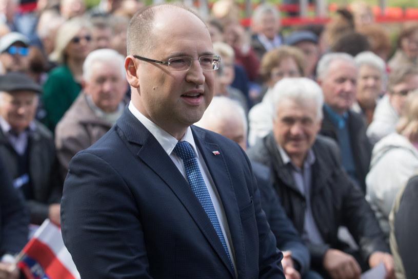 Adam Bielan /Fot. Tomasz Jastrzębowski/REPORTER /Reporter
