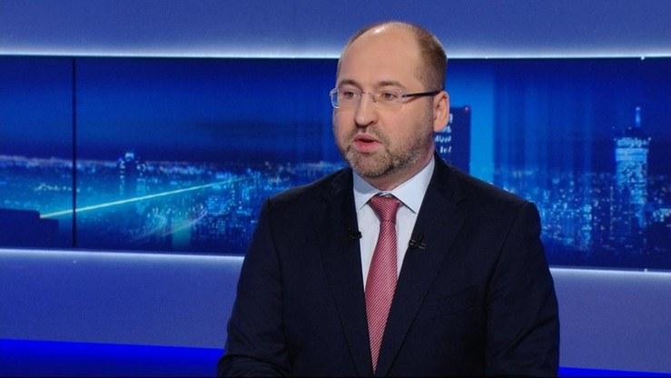 Adam Bielan /Polsat News