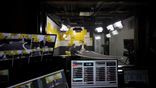 Adam Bodnar i Marcin Zaborski w warszawskim studio RMF FM /Michał Dukaczewski /RMF FM