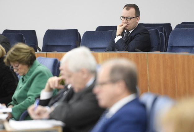Adam Bodnar na sali obrad Senatu /PAP/Jacek Turczyk /PAP