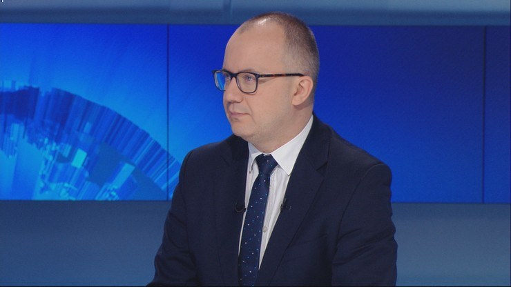 """Adam Bodnar w programie """"Gość Wydarzeń"""" /Polsat News"""