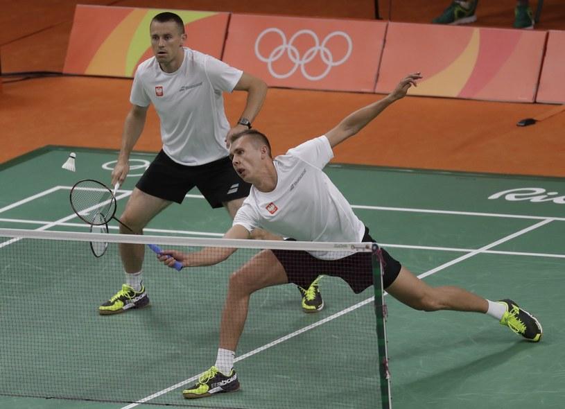 Adam Cwalina (z prawej) i Przemysław Wacha przegrali pierwszy mecz /East News
