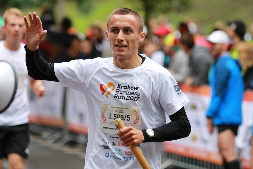 Adam Czerwiński to znany w Krakowie biegacz /materiały prasowe