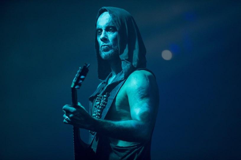 """Adam Darski """"Nergal"""" /fot. Andrzej Wasilikiewicz /Reporter"""
