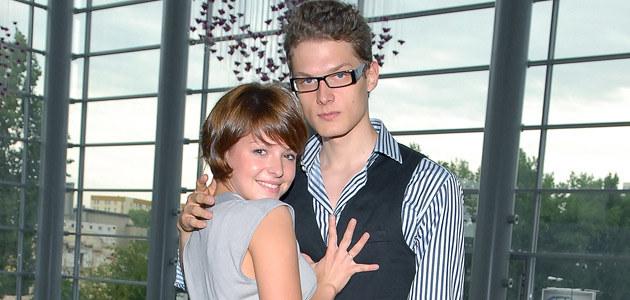 Adam Fidusiewicz i Alesya Surowa, fot. Andrzej Szilagyi  /MWMedia