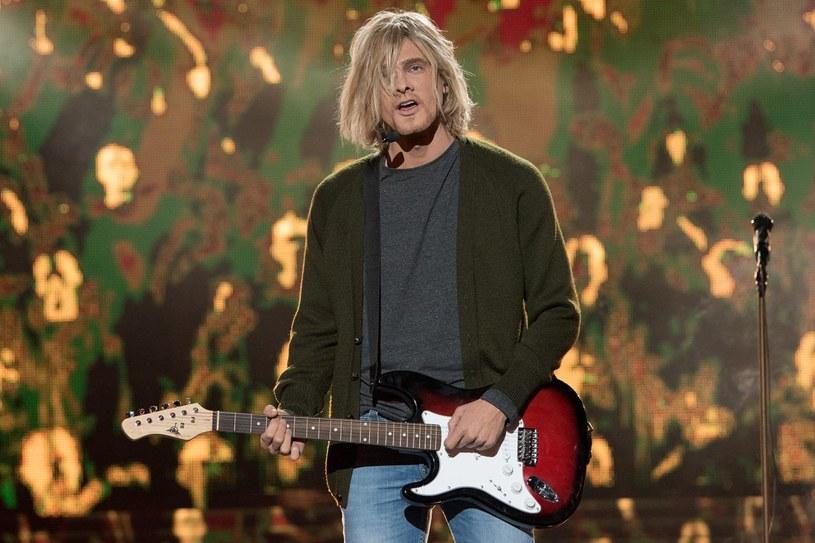 Adam Fidusiewicz jako Kurt Cobain /Polsat