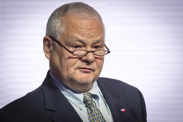 Adam Glapinski. Fot Jacek Domiński REPORTER /Reporter