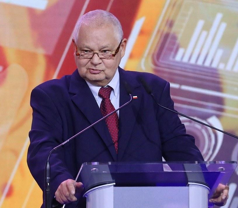 Adam Glapiński, prezes Narodowego Banku Polskiego i szef RPP /PAP