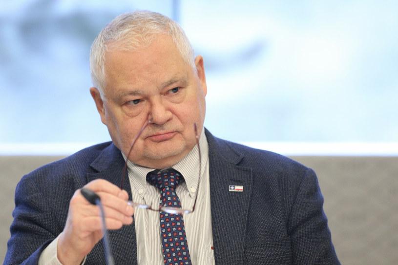 Adam Glapiński, prezes NBP i przewodniczący RPP /Tomasz Jastrzębowski /Reporter