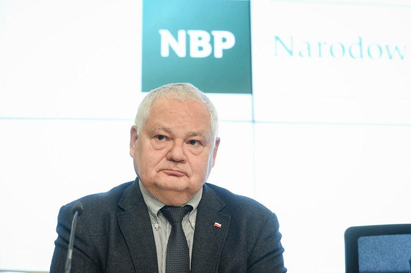 Adam Glapiński, prezes NBP /Jacek Domiński /Reporter
