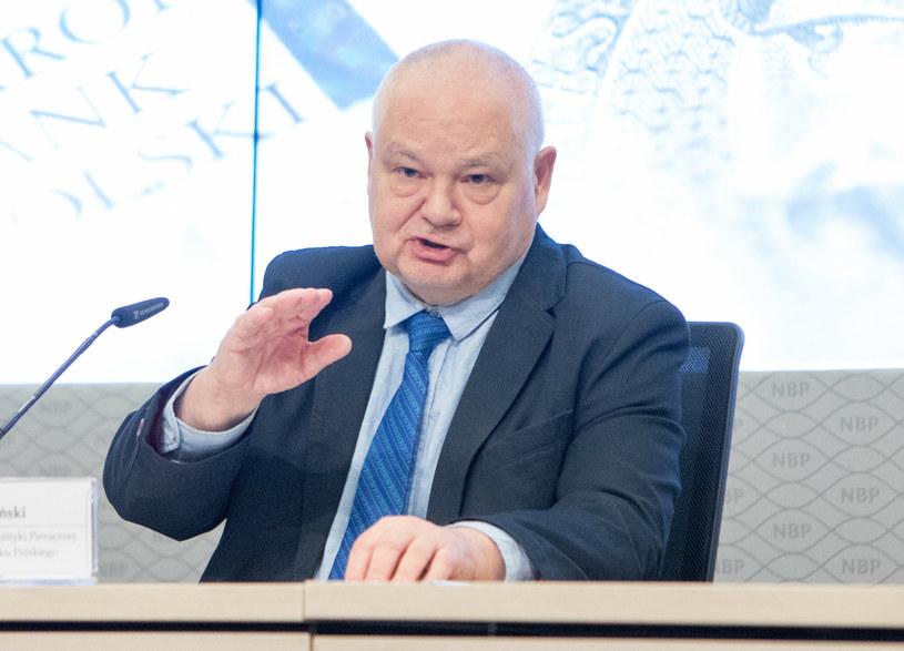 Adam Glapiński, prezes NBP /Tomasz Jastrzebowski/ /Reporter