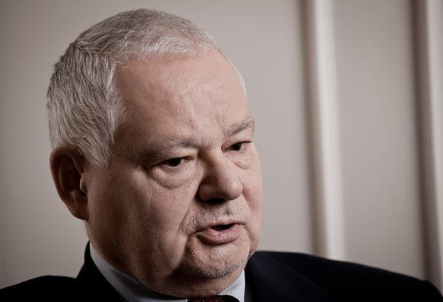 """Adam Glapinski, szef NBP. Fot Piotr Małecki """"Napo Images"""" /FORUM"""