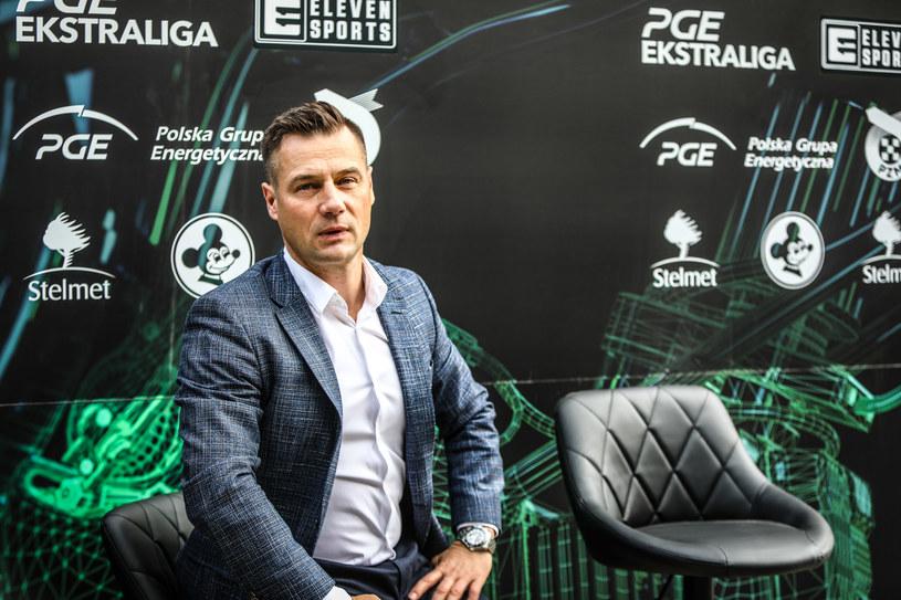 Adam Goliński, to za jego prezesury Stanisław Bieńkowski mocno finansował Falubaz. /Mateusz Wójcik /Newspix