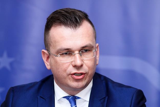 Adam Hamryszczak,podsekretarz stanu w Ministerstwie Inwestycji i Rozwoju. Fot. Artur Szczepański /Reporter