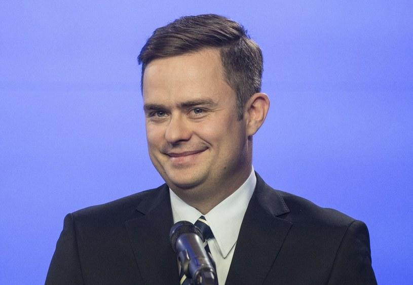 Adam Hofman /Krystian Dobuszyński /Reporter