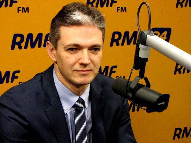 """Adam Jarubas: """"Absolutnie rozumiem frustrację części środowisk rolniczych"""" /Kamil Młodawski /RMF"""