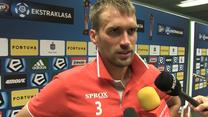 Adam Kokoszka po meczu Legia - Zagłębie 2-1. Wideo