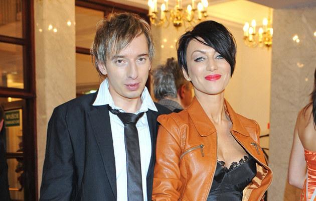 Adam Konkol z byłą partnerką, Paullą, fot.Andras Szilagyi  /MWMedia