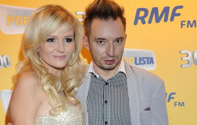 Adam Konkol z żoną /- /MWMedia