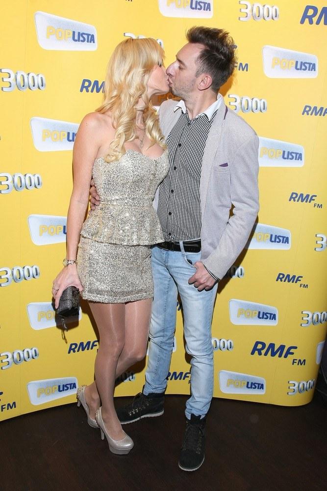 Adam Konkol z żoną /- /East News