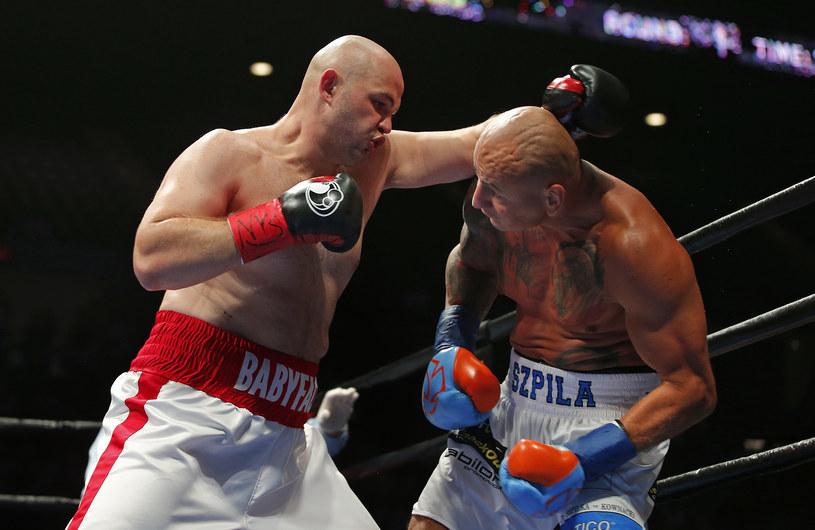 Adam Kownacki (z lewej) podczas walki z Arturem Szpilką /Getty Images