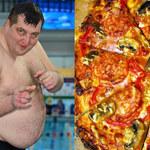 Adam Kraśko już się nie odchudza. Zjada przed snem dużą pizzę!